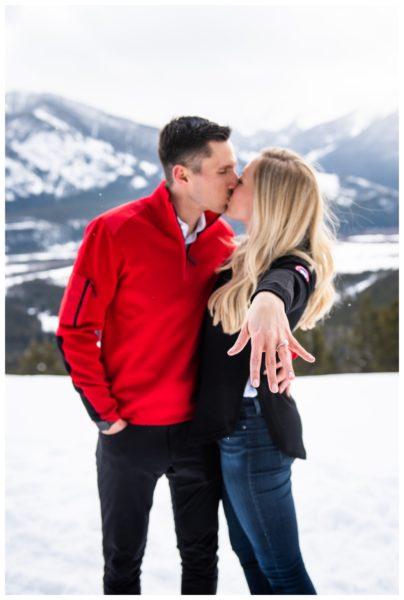 Rocky Mountain Proposal Photographer Banff Alberta