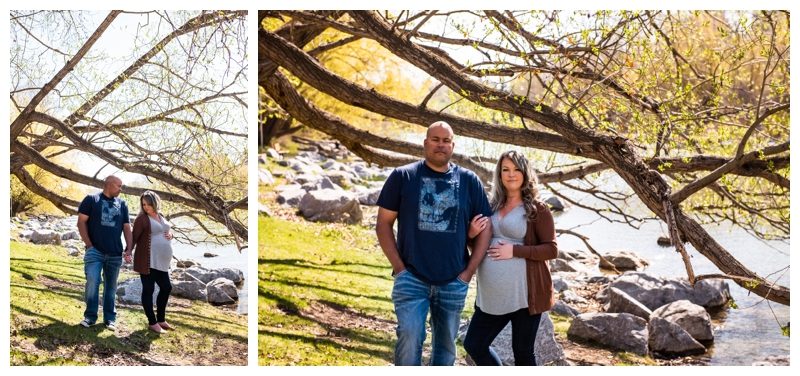 Calgary Downtown Maternity Photography