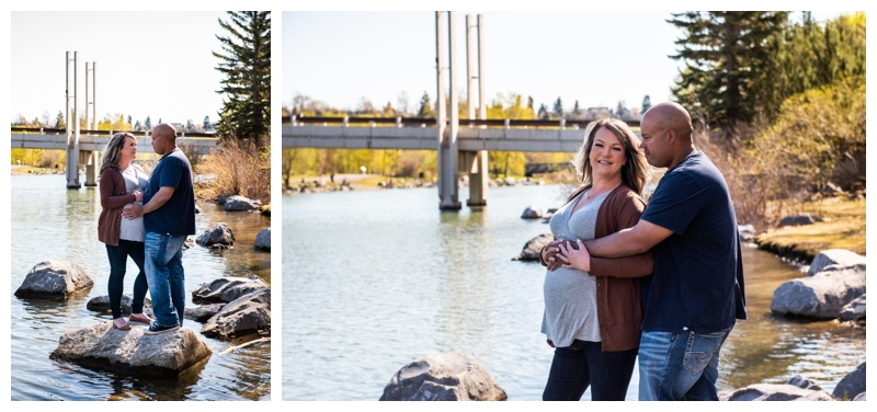 Calgary Prince's Island Park Maternity Session
