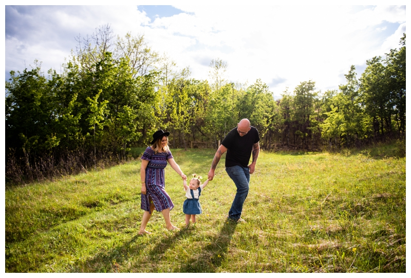 Spring Family Photographer Calgary Alberta