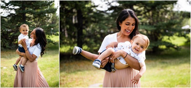 Calgary Baker Park Spring Family Photographer