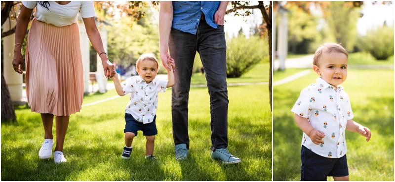 Calgary Baker Park Spring Family Photos