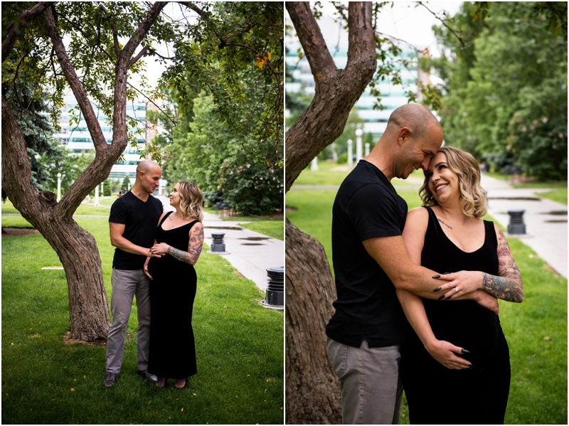 Calgary Central Memorial Park Maternity Session