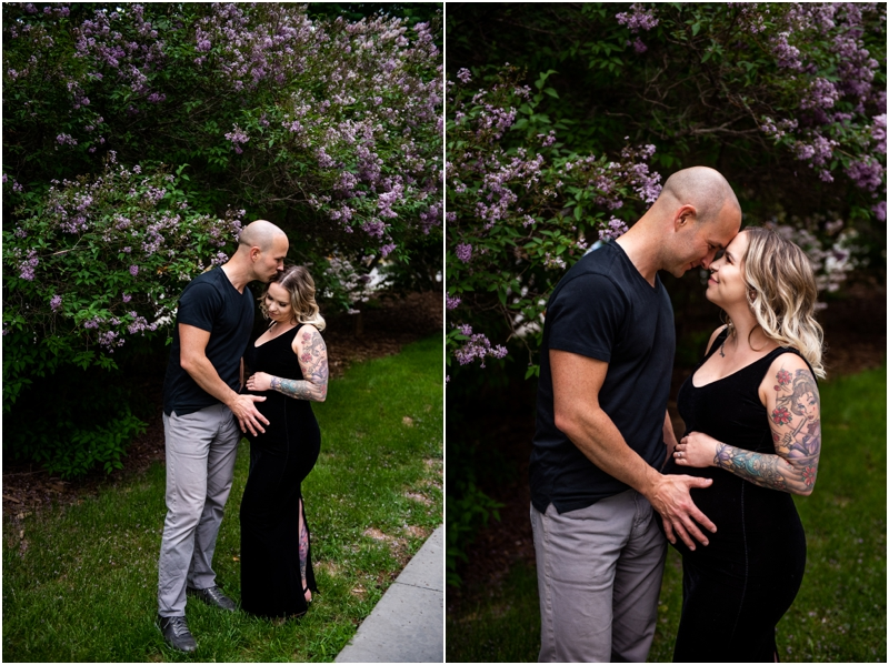 Calgary Downtown Maternity Photos