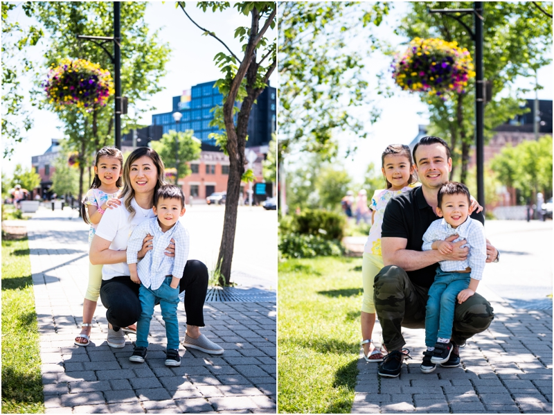 Calgary East Village Family Photographers