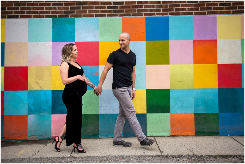 Calgary Urban Maternity Photographers