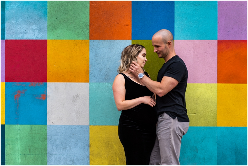 Calgary Urban Maternity Photos