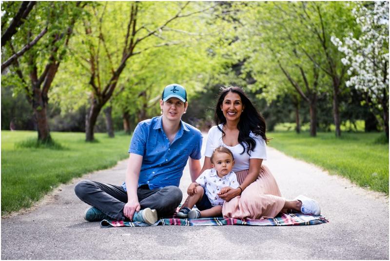 Cherry Blossom Calgary Family Session