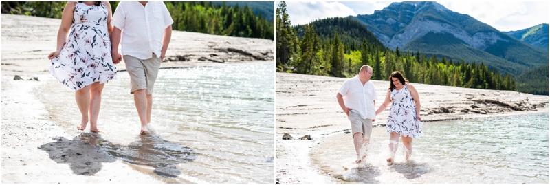 Kananaskis Engagement Photographer - Barrier Lake