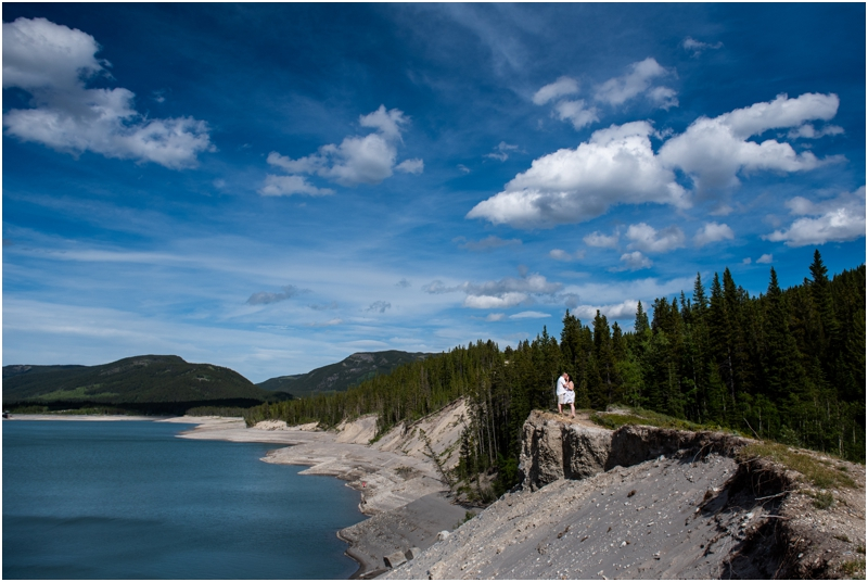 Mountain Engagement Photographer - Barrier Lake