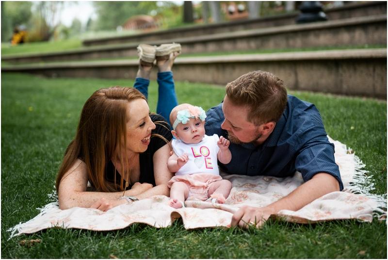 Outdoor Okotoks Newborn Photos