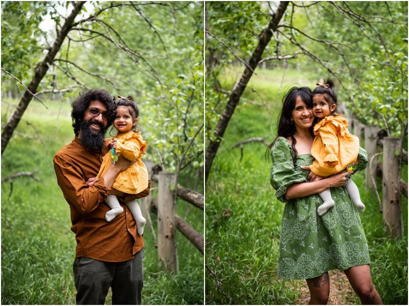 Spring Calgary Family Photos