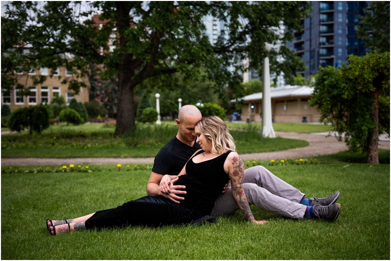 Urban Maternity Photographers Calgary
