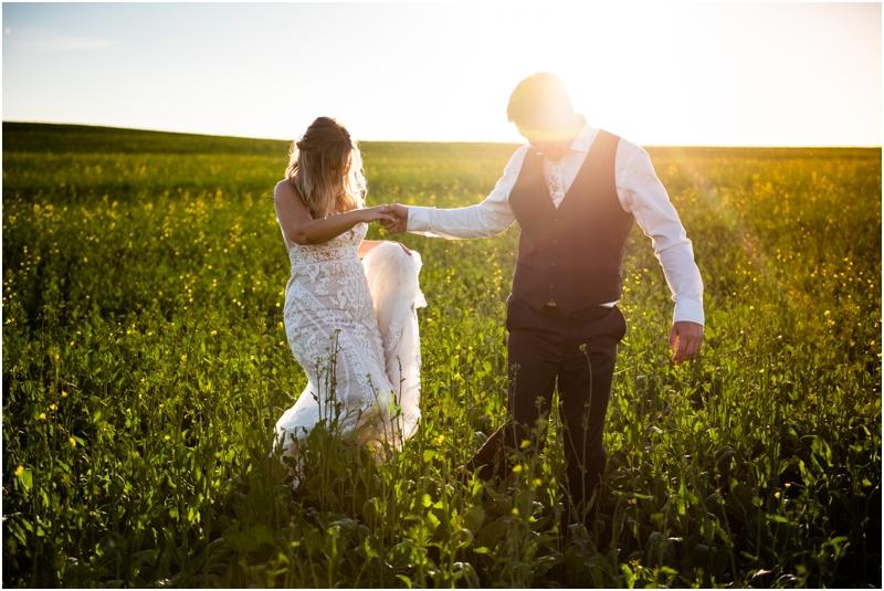 Calgary Ab Barn Wedding Photographers
