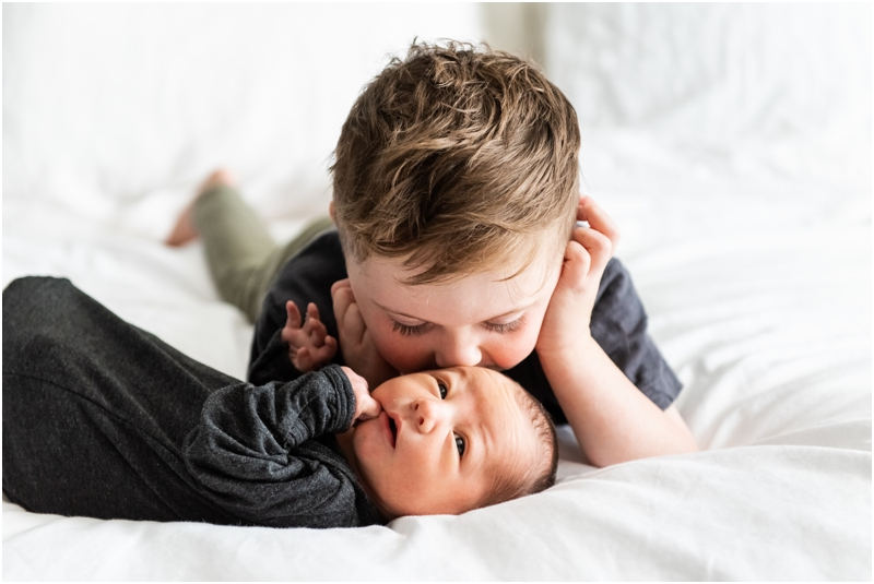 Calgary Alberta At Home Lifestyle Newborn Photographers