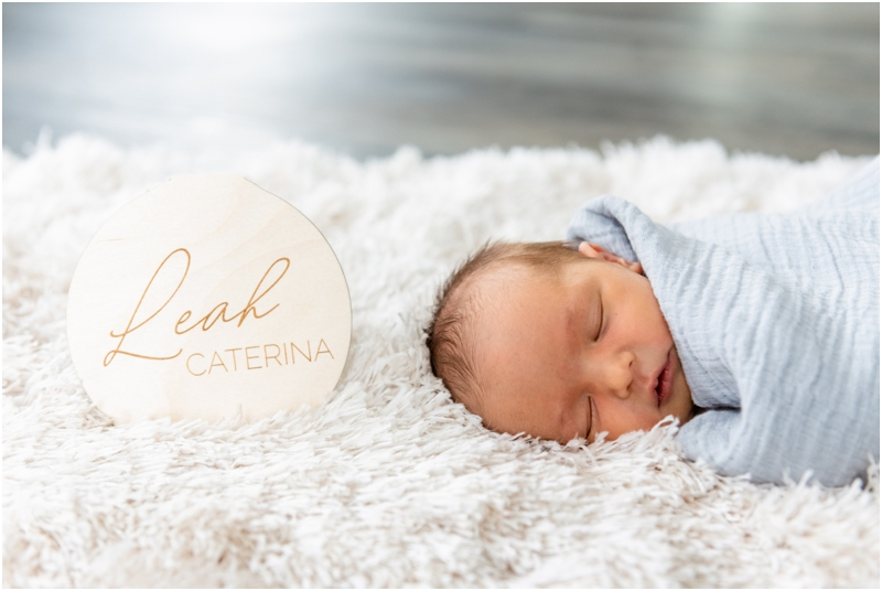 Airdrie At Home Newborn Session