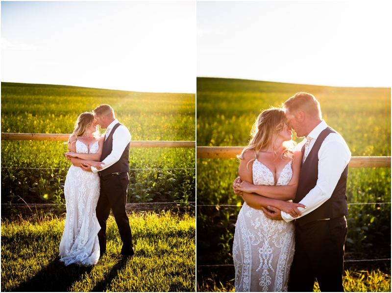 Calgary Barn Wedding Photographers