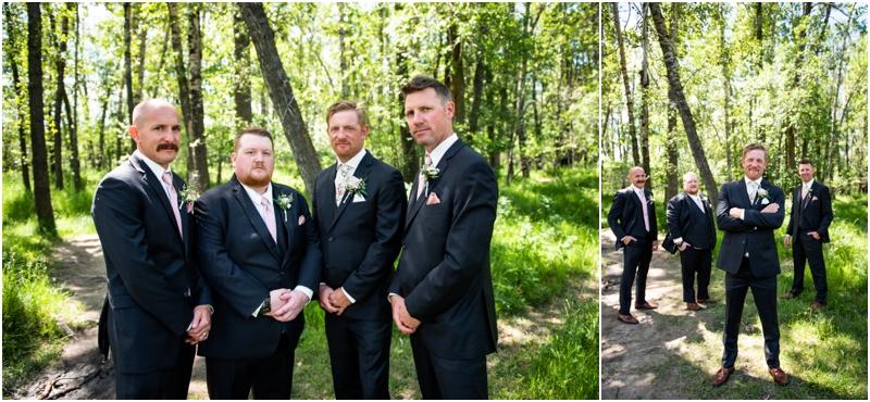 Calgary Carburn Park Wedding Photographer - Groom Portraits
