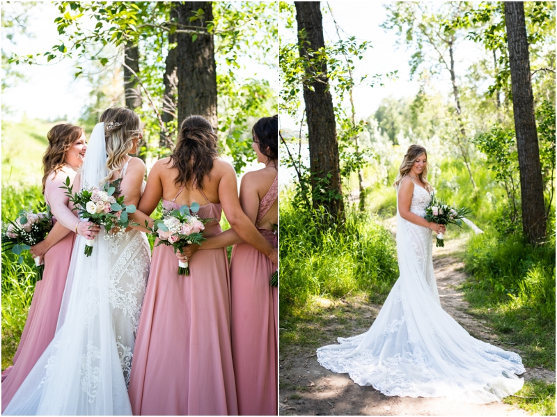 Calgary Carburn Park Wedding Photography - Bridal Portraits