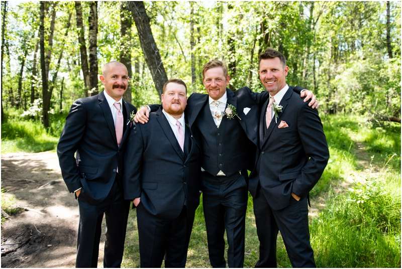 Calgary Carburn Park Wedding Photography - Groom Portraits
