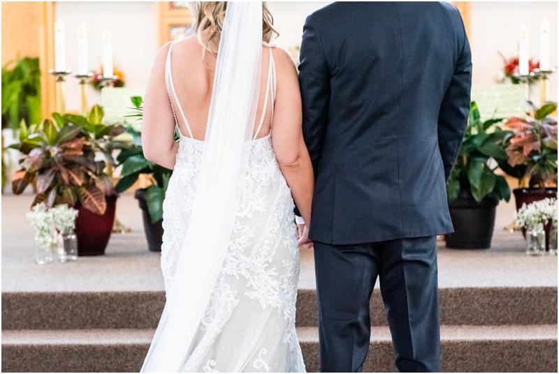 Calgary Catholic Church Wedding Ceremony Photographer