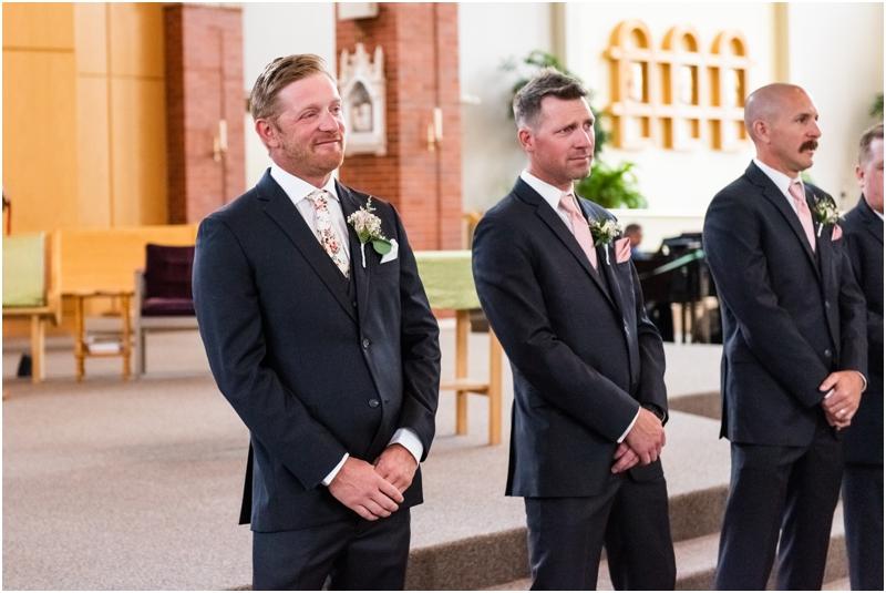 Calgary Catholic Church Wedding Ceremony -St Albert the Great Parish