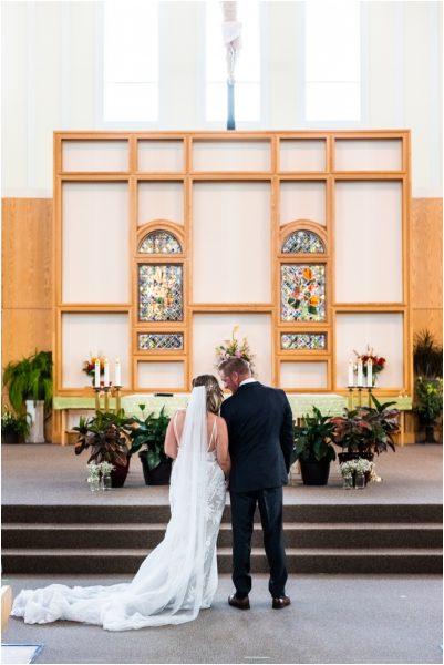 Calgary Church Wedding Ceremony