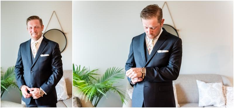 Calgary Groom Prep Wedding Photographers