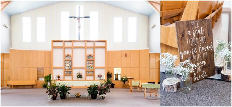 Calgary Wedding Ceremony -St Albert the Great Parish