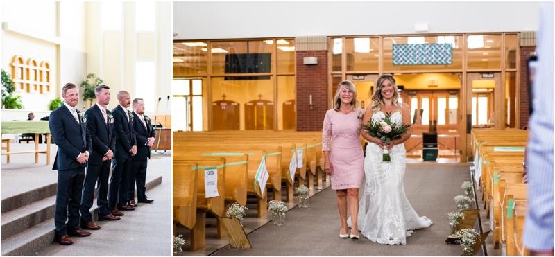 Calgary Wedding Ceremony - St Albert the Great Parish