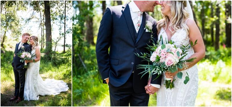 Calgary Wedding Photography - Bride & Groom Portraits