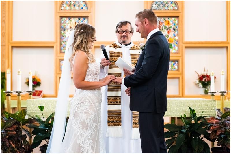 Catholic Church Wedding Ceremony Photographers Calgary