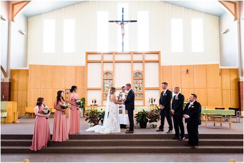 Catholic Church Wedding Ceremony Photography Calgary