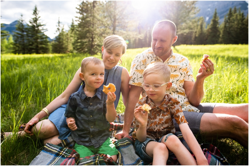 Family Photographer Kananaskis Alberta