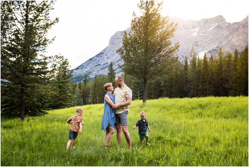 Family Photographers Kananaskis Alberta
