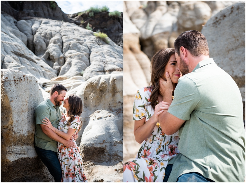 Hoodoo Trail Drumheller Engagement Photography