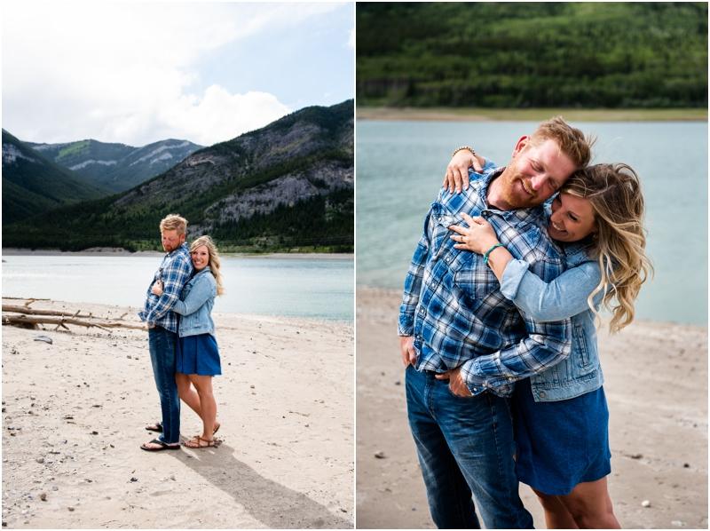 Kananaskis Engagement Photographer