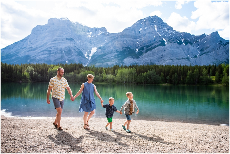 Kananaskis Wedge Pond Family Photographers