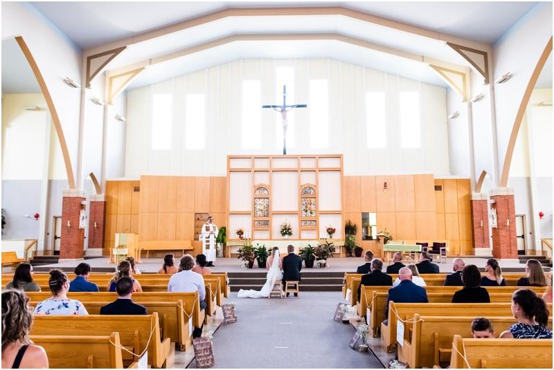 MacKenzie Towne Church Wedding Ceremony Calgary