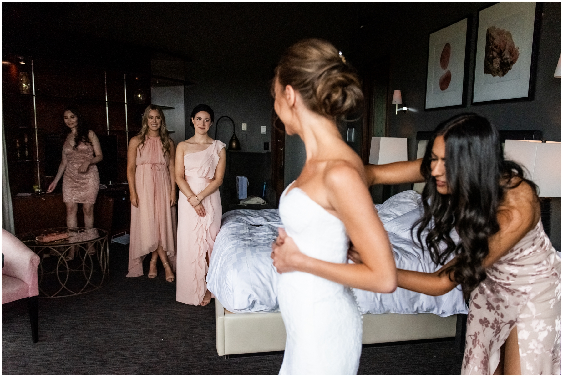 Azuridge Estate Hotel Wedding - Bridal Prep Photography
