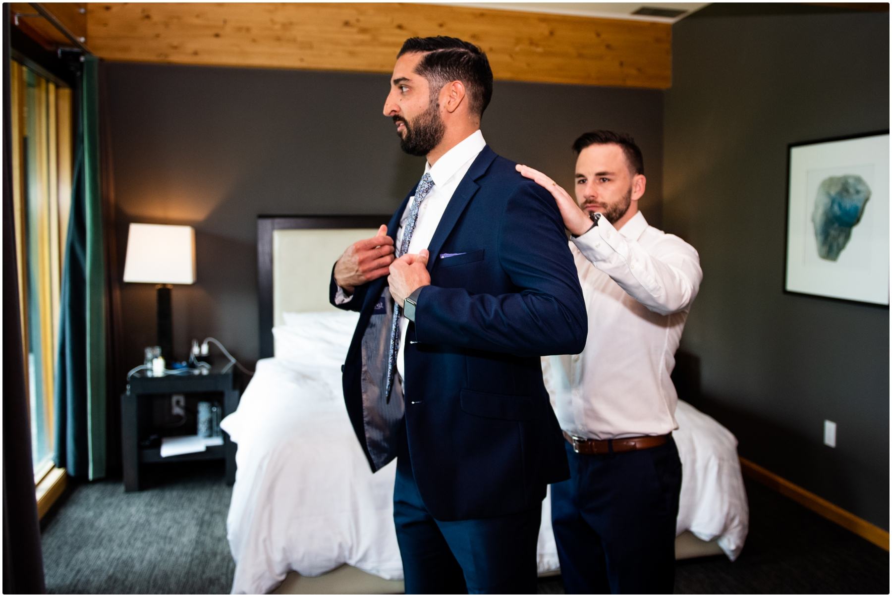 Azuridge Estate Hotel Wedding - Groom Prep Photos