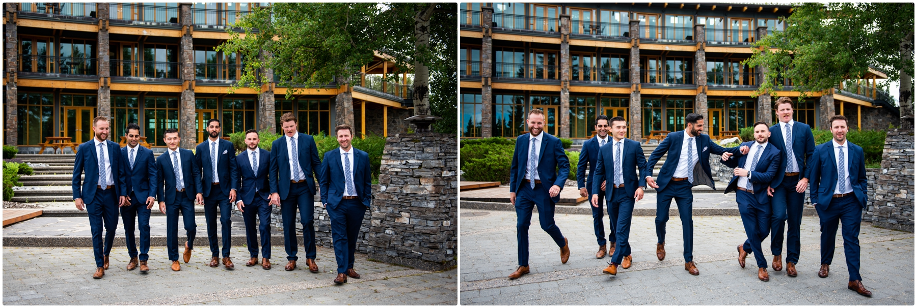 Azuridge Estate Hotel Wedding - Groomsmen Photos