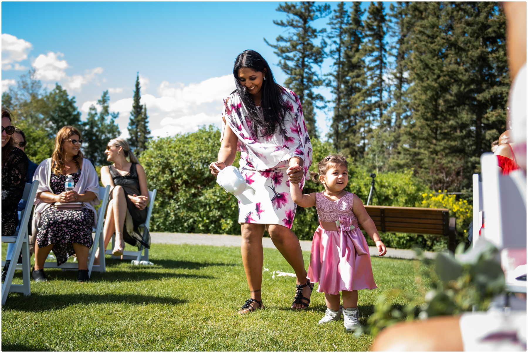 Azuridge Estate Hotel Wedding - Outdoor Wedding Ceremony Photo