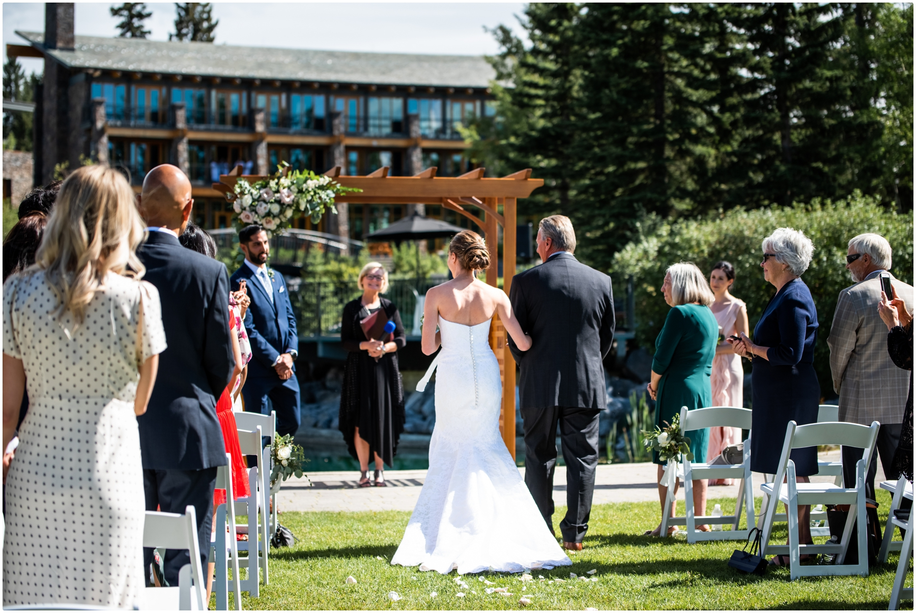 Azuridge Estate Hotel Wedding - Outdoor Wedding Ceremony Photographers