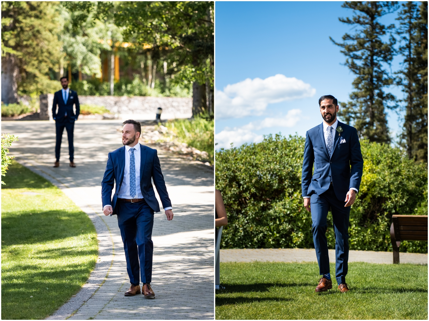Azuridge Estate Hotel Wedding - Outdoor Wedding Ceremony Photography