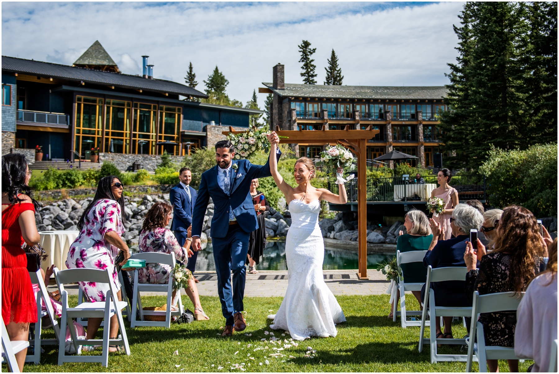 Azuridge Estate Hotel Wedding - Outdoor Wedding Ceremony Photos