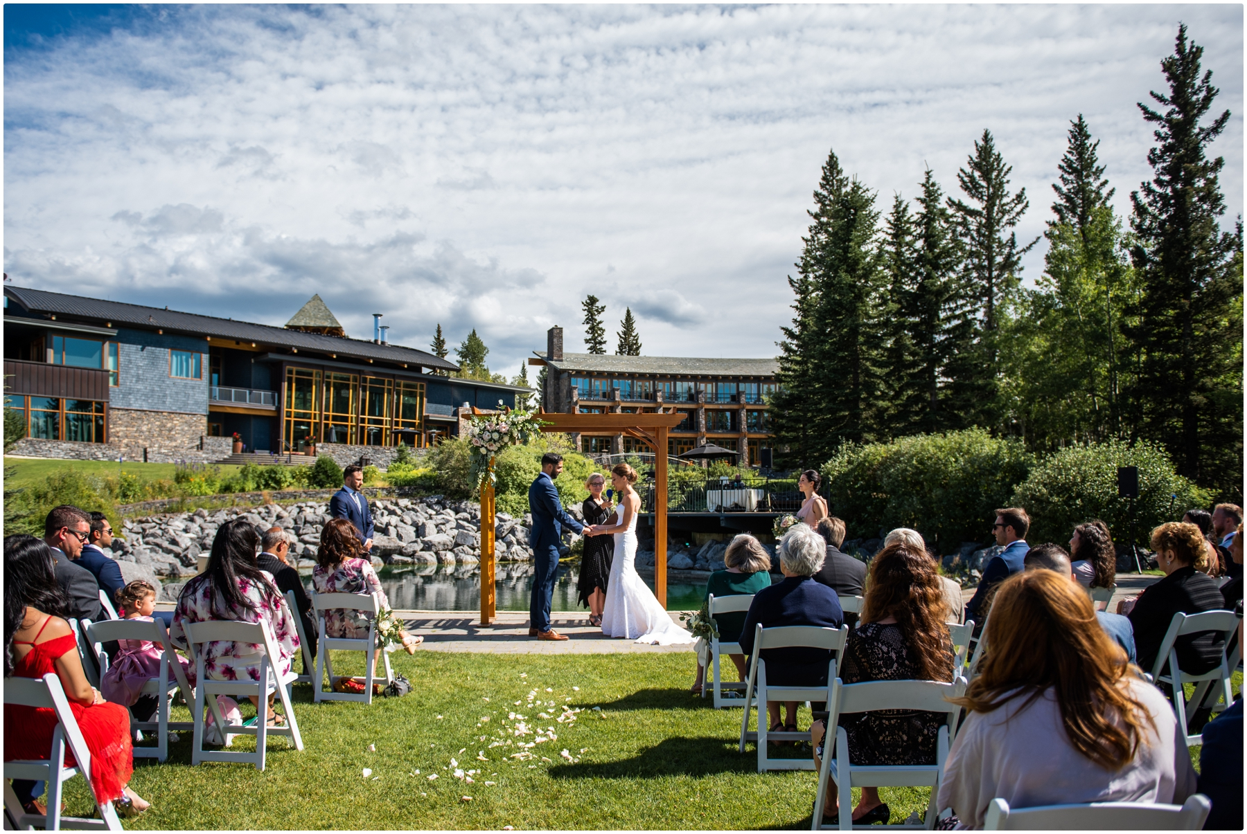 Azuridge Estate Hotel Wedding - Wedding Ceremony Photographer