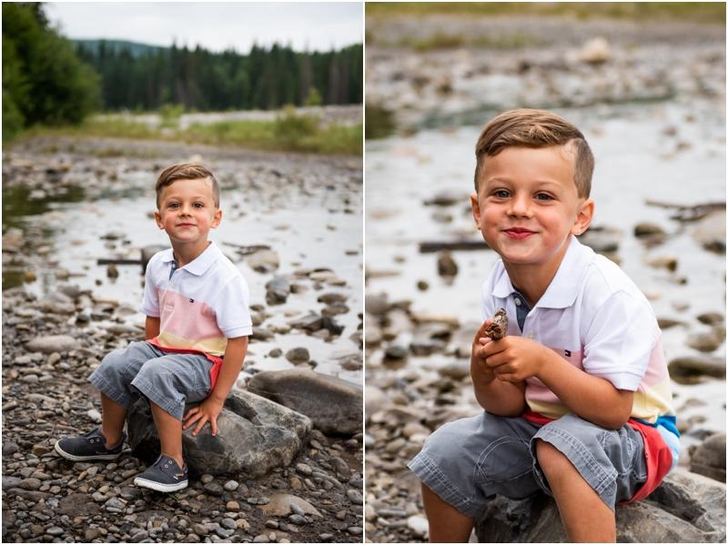 Bragg Creek Park Family Photos