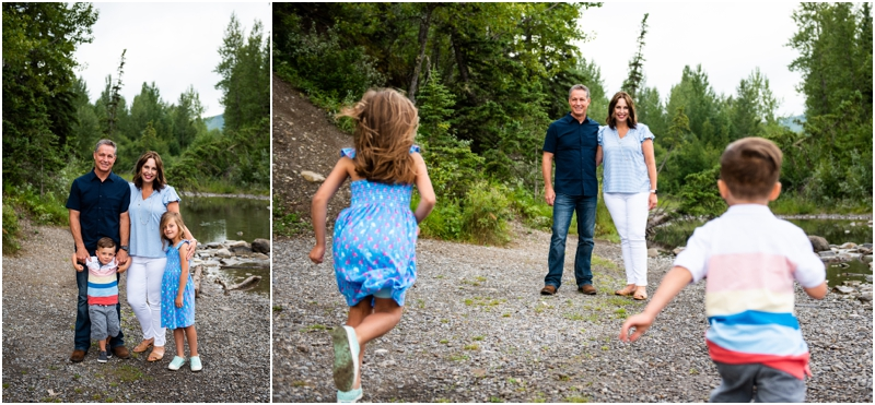 Bragg Creek Provincial Park Family Photographers