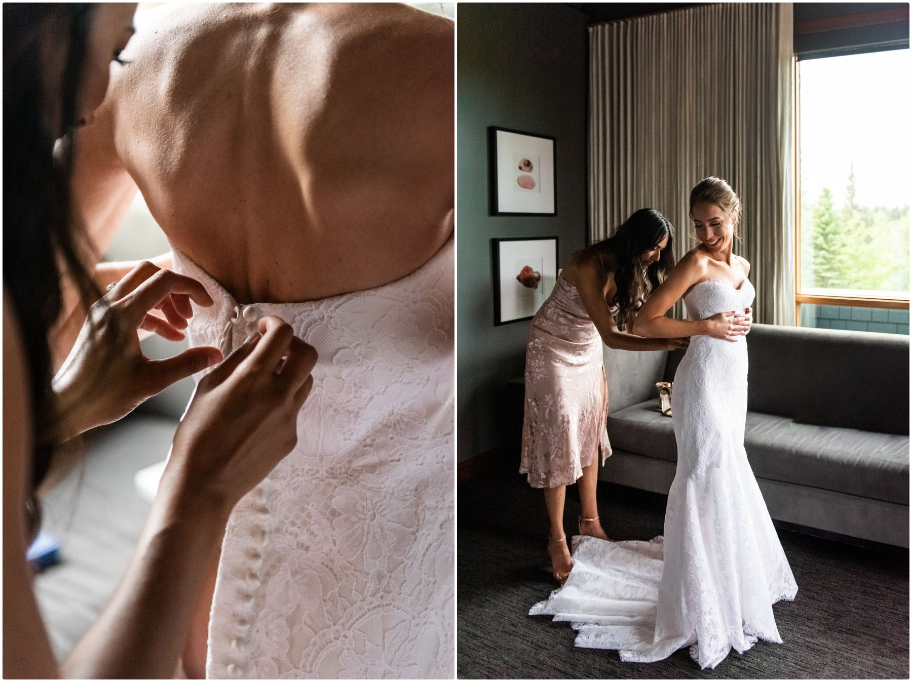 Calgary Azuridge Estate Hotel Wedding - Bridal Prep Photos